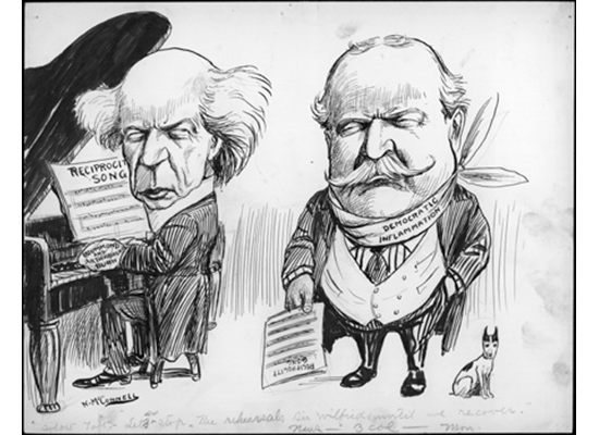 "Solost Taft: ""Let us stop the rehearsals sir Wilfrid, until we recover."""